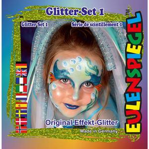 Eulenspiegel Glitter Motiv-Set 1