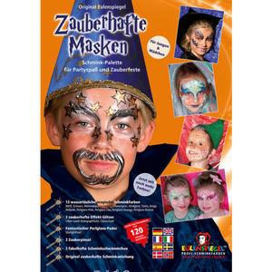Eulenspiegel zauberhafte Masken Schmink-Palette