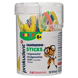 Prokudent Junior Zahnseide-Sticks 32 Stk.