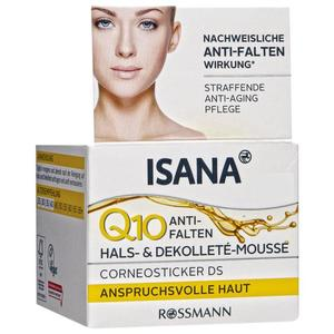 ISANA Q10 Anti-Falten Hals- & Dekolleté-Mousse 7.98 EUR/100 ml