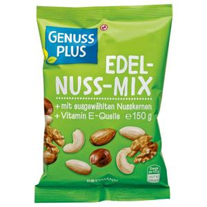 GENUSS PLUS Edel-Nuss-Mix 1.33 EUR/100 g