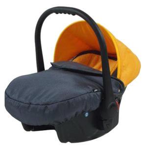 knorr-baby Babyschale ´´Voletto Sport´´, grau-orange