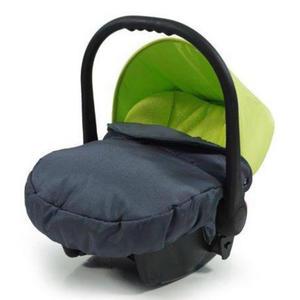 knorr-baby Babyschale ´´Voletto Sport´´, schwarz-lemon