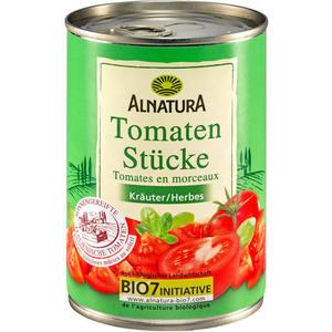 Alnatura Bio Tomatenstücke Kräuter in der Dose 247500.00 EUR/100 g