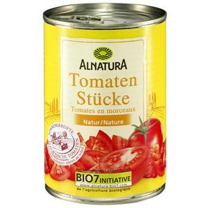 Alnatura Bio Tomatenstücke in der Dose 0.20 EUR/100 g