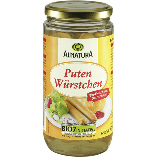 Alnatura Bio Puten-Würstchen 0.75 EUR/100 g