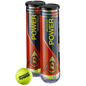Dunlop Tennisbälle Power, 2 x 4er Dose