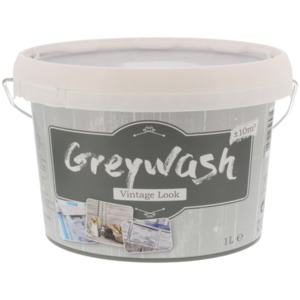 Greywash Farbe Vintage-Optik