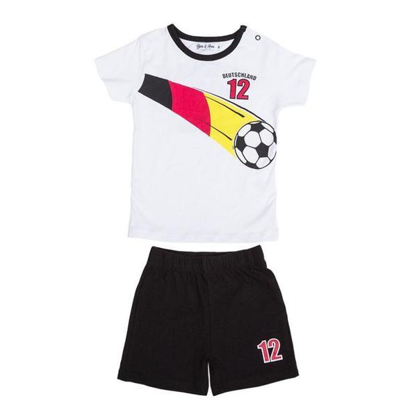 Baby Set T-Shirt & Shorts Deutschland für Jungen