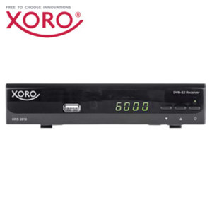 Sat-Receiver HRS 2610 • 4-stelliges Display, EPG, Einkabel-System • HDMI-/Scart-/USB-/Ethernet-Anschluss