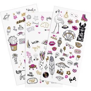 essence get your glitter on! tattoo you body tattoos doodle bomb 01