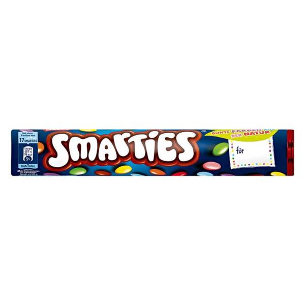 Smarties Rolle 1.22 EUR/100 g