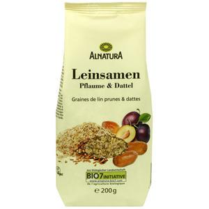 Alnatura Bio Leinsamen Pflaume und Dattel 0.90 EUR/100 g