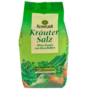 Alnatura Bio Kräutersalz unjodiert 5.58 EUR/1 kg