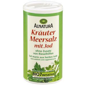 Alnatura Bio Kräutersalz mit Jod, Streudose 1.00 EUR/100 g