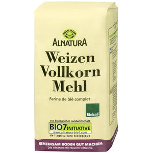 Alnatura Bio Weizenvollkornmehl 1.29 EUR/1 kg