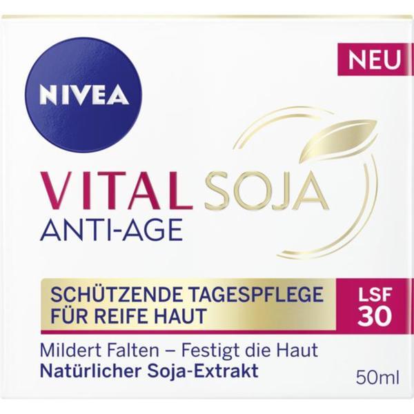 NIVEA Vital Soja Anti-Age schützende Tagespflege 21.98 EUR/100 ml