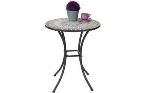Tisch Mosaik grau