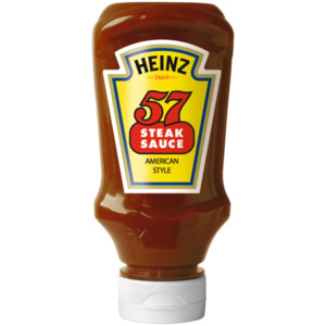 Heinz 57 Steak-Sauce 220ml