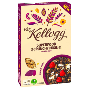 Kellogg's Superfood Crunchy Müsli Cacao & Nuts 400g