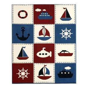 Kinderteppich Nautic Patchwork, Hanse Home Collection