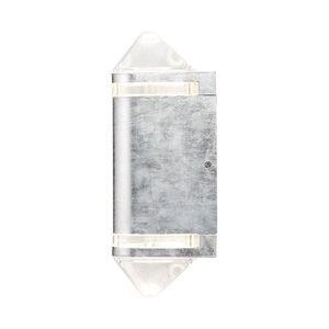 EEK A++, Außenleuchte Modena Aites II - Metall - 2-flammig, Konstsmide