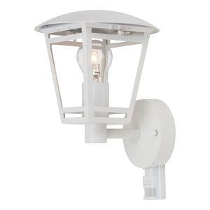 EEK A++, Außenwandleuchte Riley Lantern II - Kunststoff / Eisen - 1-flammig - Weiß, Brilliant