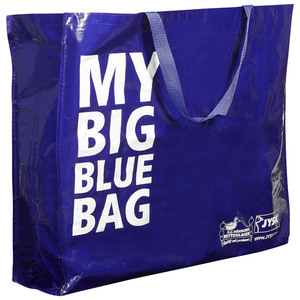 My Big Blue Bag (Tragtasche, blau)