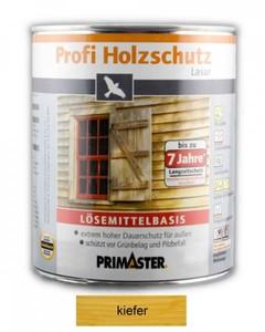 Primaster Profi Holzschutzlasur ,  kiefer seidenglänzend, 2,5 l