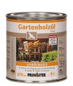 Primaster Gartenholzöl ,  teak, 375 ml