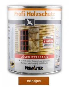 Primaster Profi Holzschutzlasur ,  mahagoni seidenglänzend, 2,5 l