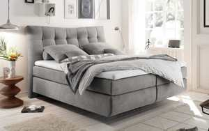 HARDi - Boxspringbett Malibu 2 in light grey