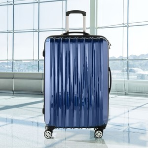 Hartschalenkoffer Trolley navy 28`