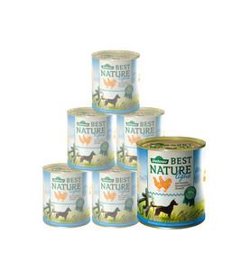 Dehner Best Nature für Hunde, Light, Nassfutter, 6 x 400g/800g