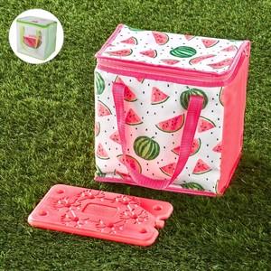 Kühltasche mit Kühlpad Wassermelone grün