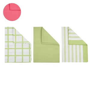 Küchentücher, 3er-Set grün