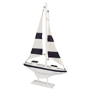 Deko Holz-Segelboot
