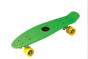 Lookids Skateboard grün