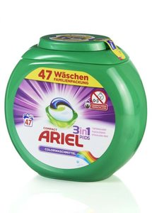 Ariel Colorwaschmittel Compact Pods 3-in-1