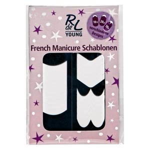 RdeL Young French Manicure Schablonen