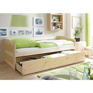 TICAA Sofabett ´´Marina´´, natur lackiert