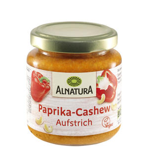 Alnatura Bio Paprika Cashew Brotaufstrich 1.19 EUR/100 g