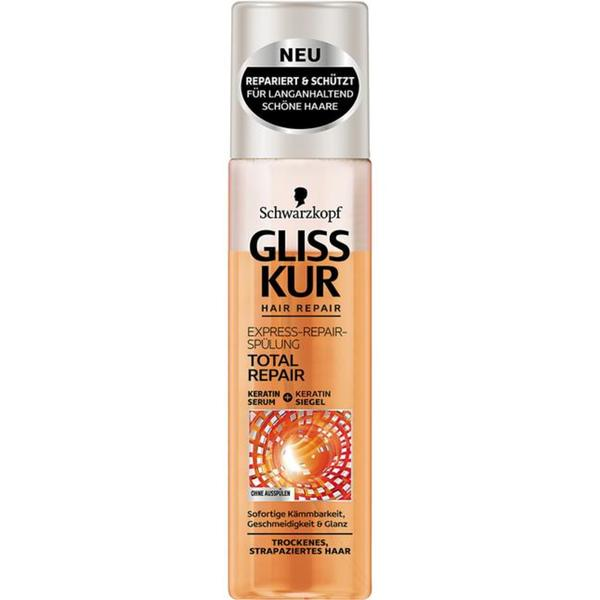 Gliss Kur Hair Repair Express-Repair-Spülung Total Rep 1.40 EUR/100 ml
