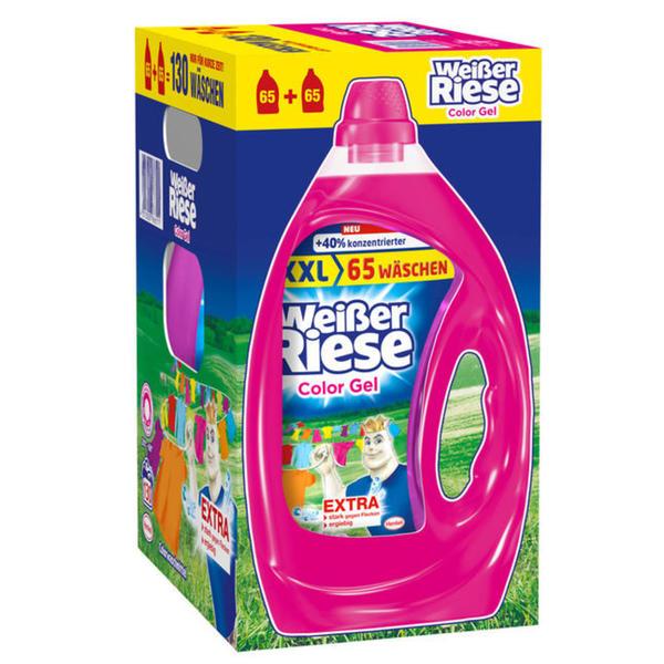 Weißer Riese Color Gel Flüssigcolorwaschmittel 130 WL 0.13 EUR/1 WL