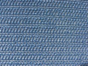 Grasekamp Tischdecke aus Schaumstoff 160x250cm oval dunkelblau