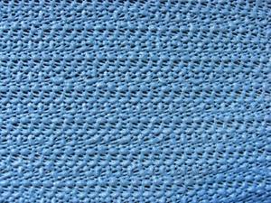 Grasekamp Tischdecke aus Schaumstoff 100x130cm eckig grau/blau