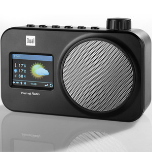 Dual WIFI-Internetradio IR11 Inkl. Wetter-Prognose & Wecker