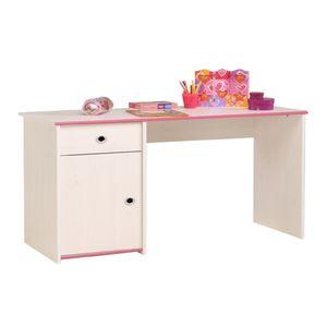 Schreibtisch Smoozy - Drehbare Kanten (Rosa/Blau), Parisot Meubles