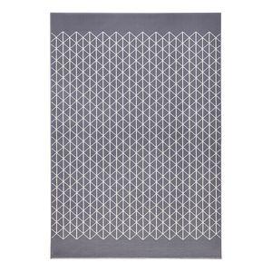 Teppich Twist - Kunstfaser - Grau / Creme - 160 x 230 cm, Zala Living