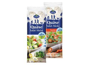 Loose Quäse Salat-Sticks
